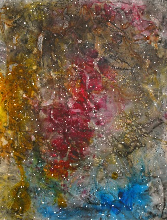 Sternenbild Nr.1015610, 200x152cm, Aquarell, Tusche:Papier,2010 Kopie
